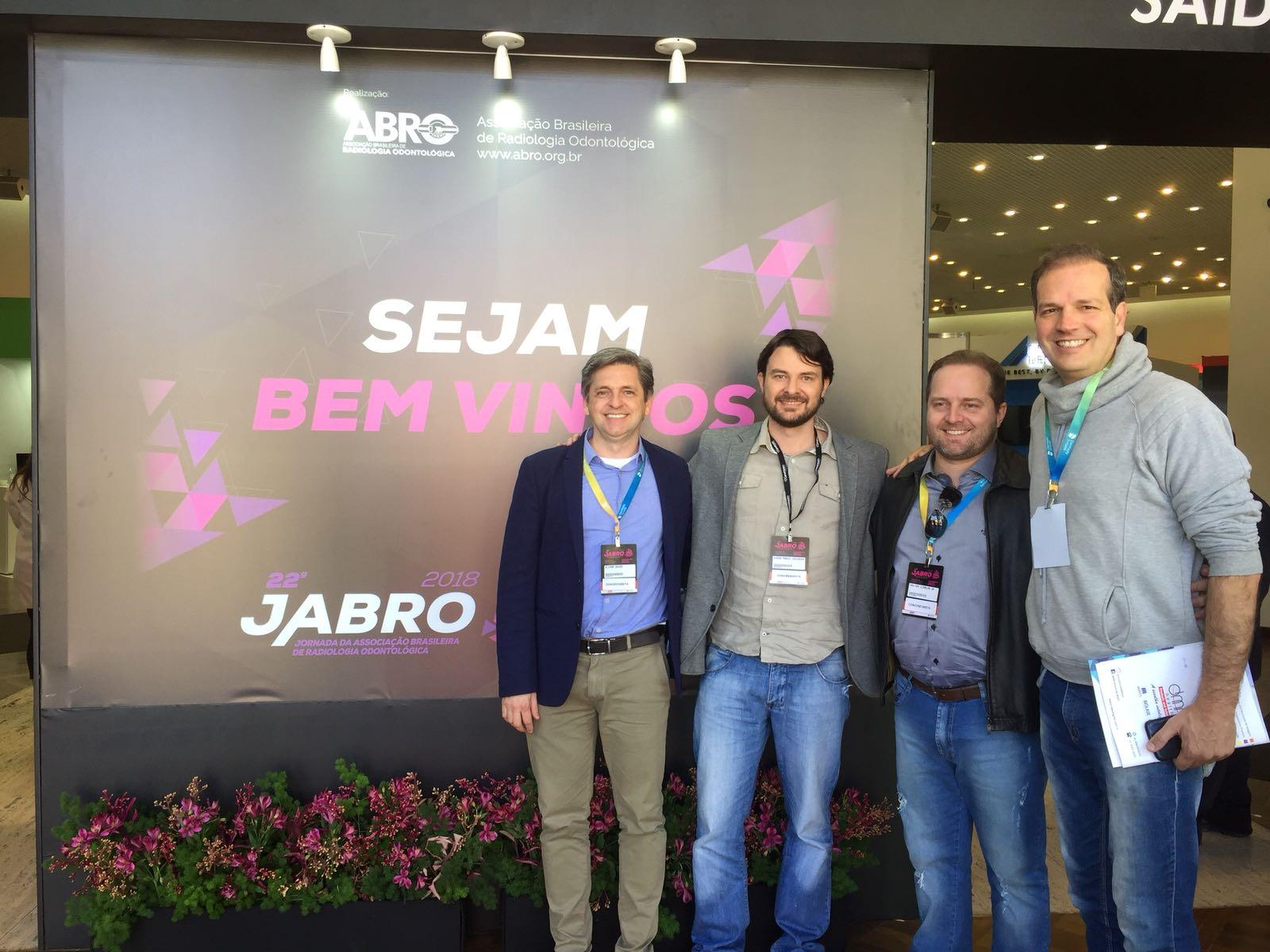 CENDRO PRESENTE NA JORNADA BRASILEIRA DE RADIOLOGIA ODONTOLOGICA 2018!